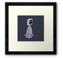 ? Robot Framed Print