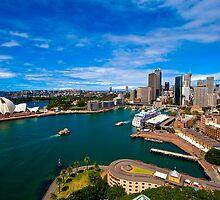 CBD Sydney by Larry Anda