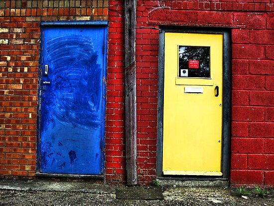 Double doors by purposemaker909