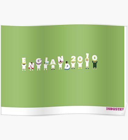 Foot-T poster 'Engerland!' Poster