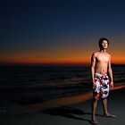 Sunset Portrait by Lawrence Crisostomo