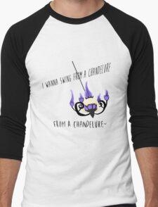 Pokemon Pun  Men's Baseball ¾ T-Shirt