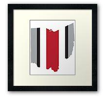 #GoBucks Framed Print