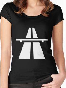 Autobahn Women's Fitted Scoop T-Shirt