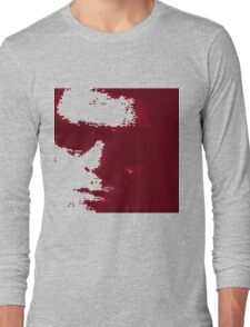 Lou Reed 1966 Red Long Sleeve T-Shirt