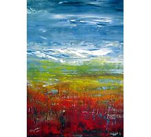 Abstract in oil. Photographic Print