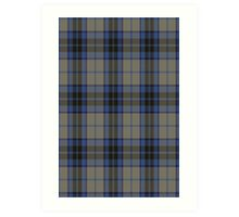 00006 Thom(p)son Dress Blue Tartan Art Print