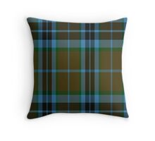 00007 Thompson-Thomson-MacTavish Hunting Tartan  Throw Pillow