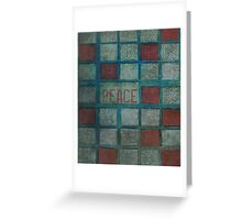 State Of Peace Greeting Card