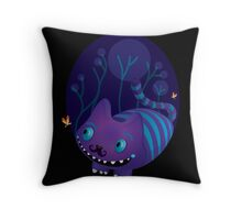 Cheshire the cat  Throw Pillow