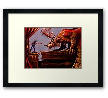 The Boy Who Cried Wolf - Special Edition Framed Print