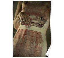 trompe-l'oeil dress Poster