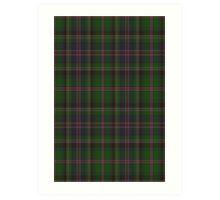 00018 Cooper/Couper Clan/Family Tartan Art Print