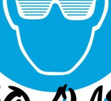 Disco Glasses Sticker