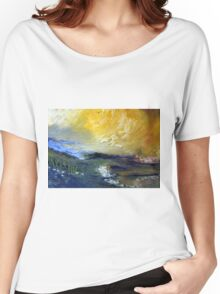A landscape Women's Relaxed Fit T-Shirt