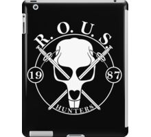 r o u s hunters iPad Case/Skin
