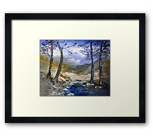 A river in Africa Framed Print