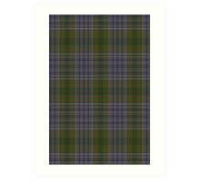 00022 Patterson Family Tartan  Art Print