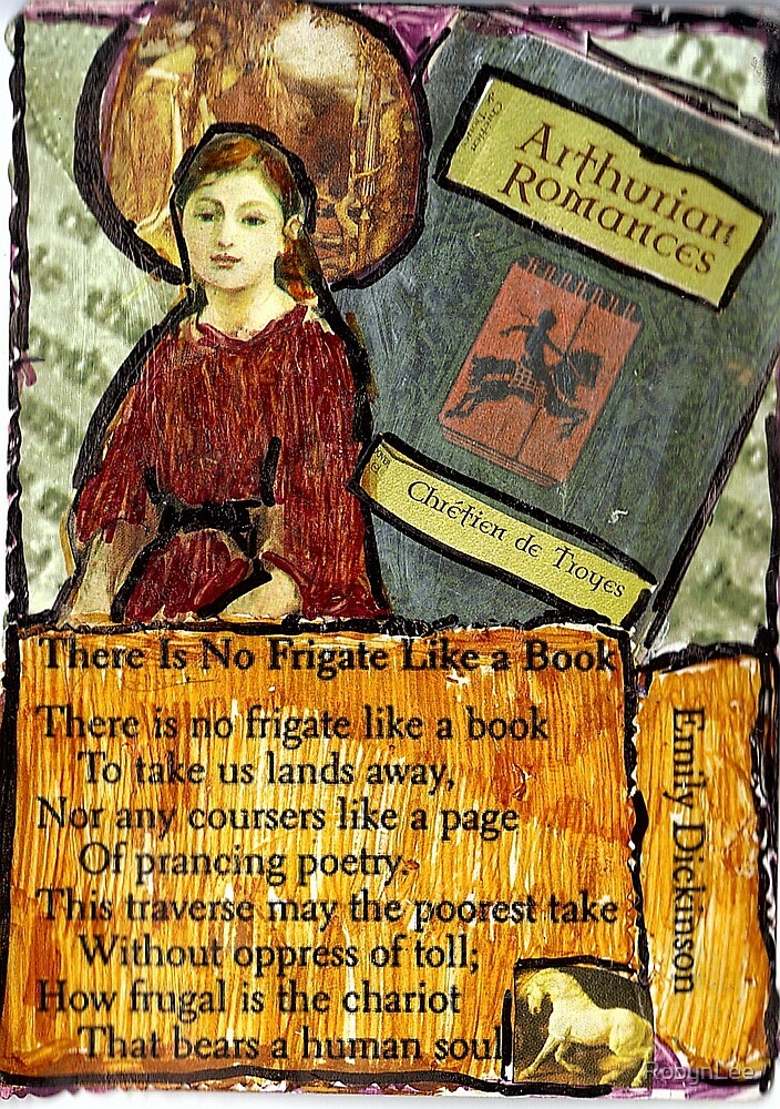 there is no frigate like a book essay There is no frigate like a book analysis emily dickinson critical analysis of poem, review school overview analysis of the poem literary terms definition terms.