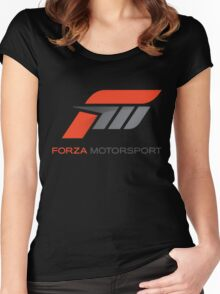 forza paul walker motorsport Women's Fitted Scoop T-Shirt