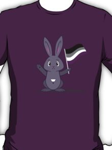 Lane - the Asexual Pride Bunny T-Shirt