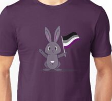Lane - the Asexual Pride Bunny Unisex T-Shirt