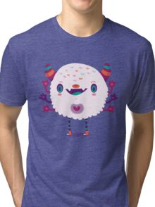 Puffy monster Tri-blend T-Shirt