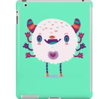 Puffy monster iPad Case/Skin