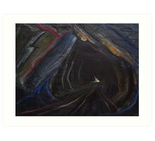 'Slate Mine 1979' Art Print