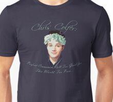 Chris Colfer: Perfect Cinnamon Roll Unisex T-Shirt