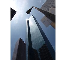 Wells Fargo Plaza Photographic Print