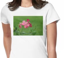Sweet Peas in Spring Womens Fitted T-Shirt