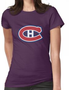 retro montreal canadiens Womens Fitted T-Shirt