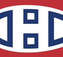retro montreal canadiens Sticker