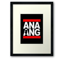 The Ana Ang Show Framed Print