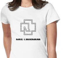 Mrs. Lindemann Womens Fitted T-Shirt