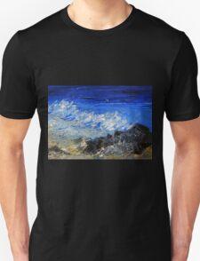 The rhythm of the ocean Unisex T-Shirt