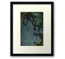 Swing For The Stars Framed Print