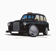 London Fairway Taxi Black by Richard Yeomans