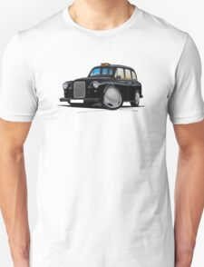 London Fairway Taxi Black T-Shirt