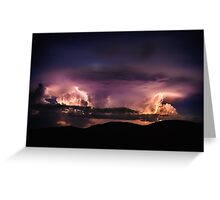 Wild Light of an African Night Greeting Card