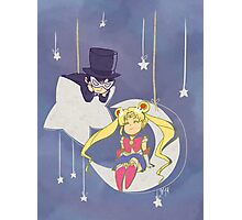 Hey there Sailor Moon Photographic Print