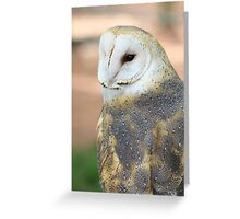 "Barn Owl - ""Edgar"" Greeting Card"