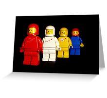 Spacemen team photo Greeting Card