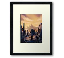 FE:A Future Past Framed Print