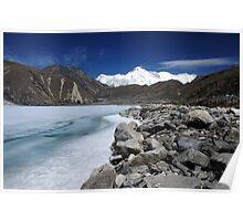 Gokyo Lake and Cho Oyu - Nepal Everest Trail Poster