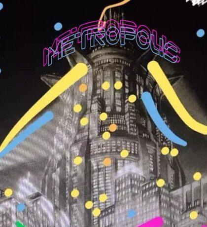 Neon Metropolis Sticker