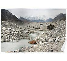 Ngozumpa Glacier - Nepal Poster