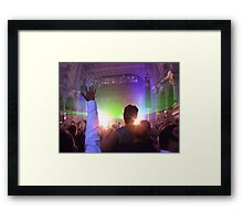 Reach For The Lasers Framed Print