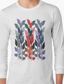 Leaves on Stems T Shirt Long Sleeve T-Shirt